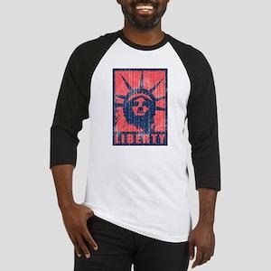 Liberty [Red&Blue] Baseball Jersey